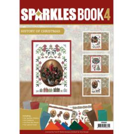 SPDOA6004 Sparkle Book A6 - 4 - Amy Design - History of Christmas