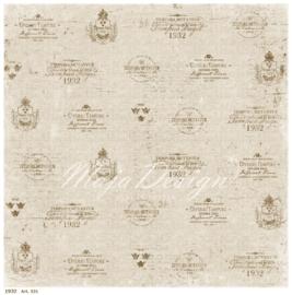 531 Scrappapier dubbelzijdig - Vintage Summer - Maja Design