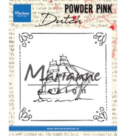 PP2806 Clearstempel - Powder Pink - Marianne Design