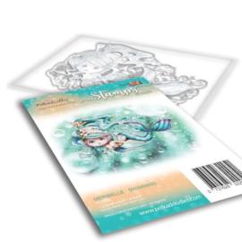 PD7835 Polkadoodles stamp Meribelle - Swimming