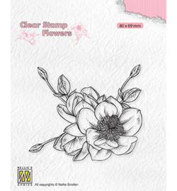 FLO030 - Magnolia flower - Nellie Snellen