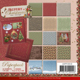 ADPP10040 Paperpad  - History of Christmas - Amy Design