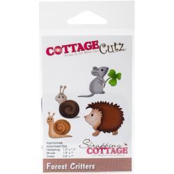 CC222 Forest Critters - Snij- en embosmal - Cottage Cutz