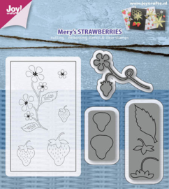 6004-0019 Snij- en embosmal plus stempels - Joy Crafts