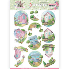 SB10334 Stansvel 3D vel A4 - Spring is Here - Amy Design