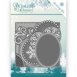 JAD10016 Snij- en embosmal - Winter Classic - Jenine's Art
