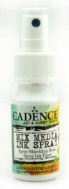 Mix Media Ink Spray Wit 25ml - Cadence