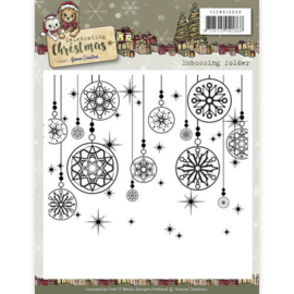 YCEMB10008 Embosfolder - Celebrate Christmas - Yvonne Creations