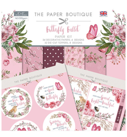 PB1164 Paperpad 20.5 x 20.5 cm Butterfly Ballet - The Paper Boutique