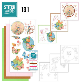 Stitch and do nr. 131 - Vogels en Vlinders