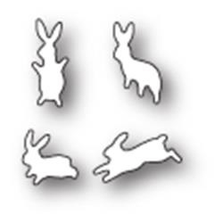 MBP1771 Snij- embosmal - Bunny's - Poppy - Memorybox