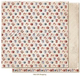 CHRS1002 Scrappapier dubbelzijdig - Christmas Seasons - Maja Design