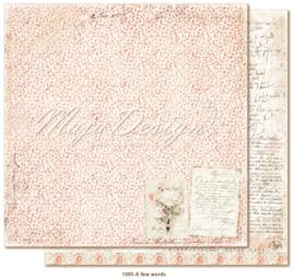 1095 Scrappapier dubbelzijdig - Miles Apart - Maja Design
