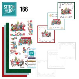 Stitch and Do 166 - set voor 3 borduurkaarten