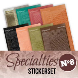 Stickerset bij Specialties nr. 8