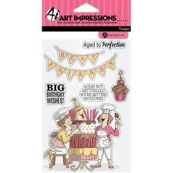 SC0794 Big Day - Clear Stamp - Art Impression
