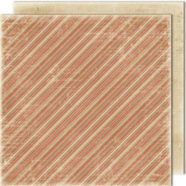 481 Scrappapier dubbelzijdig - Vintage Winter - Maja Design