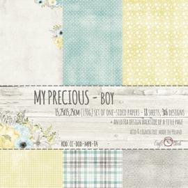 Paperpad 15,2 x 15,2 cm - My Precious Boy - Craft-O-Clock