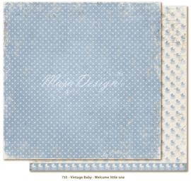 735 Scrappapier dubbelzijdig - Vintage Baby - Maja Design