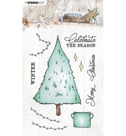 STAMPWC489  Clear stempel - Winter Charm - Studio Light