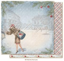 CHRS997 Scrappapier dubbelzijdig - Christmas Seasons - Maja Design