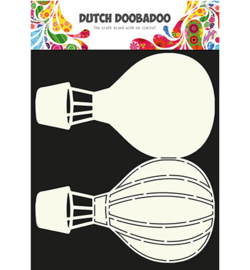 470.713.630 Dutch Card Art A4 Luchtballon - Dutch Doobadoo