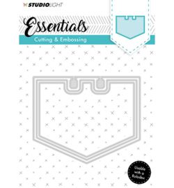 STENCILSL122 Snij- en embosmal - Essentials -  Studio Light