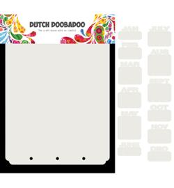 470.713.820 Dutch Art Mini Album Maanden - Dutch Doobadoo