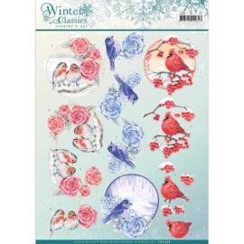 CD10968 Knipvel A4  - Winter Classic - Jenine's Art
