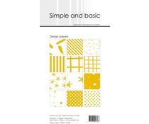 SBP904 Slim Paperpack 21x10cm - 24 stuks - Simple and Basic