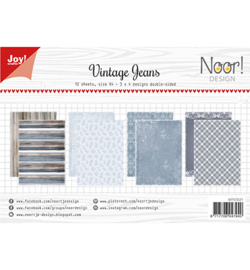 6011-0621 Paperset A4 Vintage Jeans - Joy Crafts