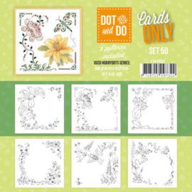 CODO050 Dot en Do 4kant Cards Only nr. 48 - 6 stuks