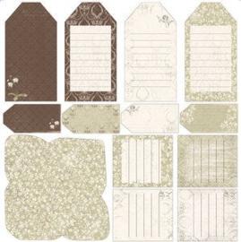 202 Scrappapier - Mina Vanner Paula Labels - Maja Design