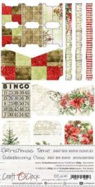 Craft O' Clock - Christmas Time - Junk Journal set