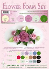 25.4988 Flower Foam Set 8 - 0.8mm. old rose colours