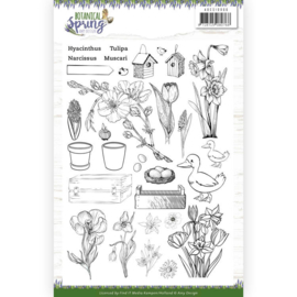 ADCS10066 Clearstempel - Botanical Spring - Amy Design