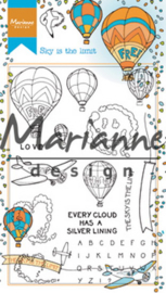HT1634 Clearstempel - Marianne Design