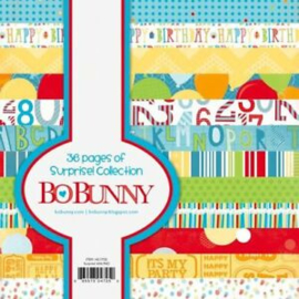 Paperpad 15,2 x 15,2 cm - Surprise! -  Bo Bunny