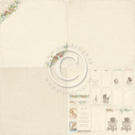 PD4103 Scrappapier - Sweet Baby - Pion