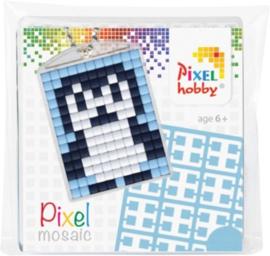 Sleutelhanger setje compleet - Pinquin  -  Pixel Hobby