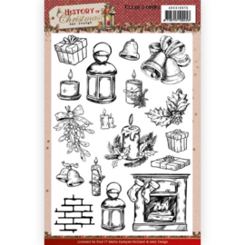 ADCS10075 Clearstempel - History of Christmas - Amy Design
