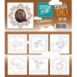 Stitch and Do Cards Only nr. 30