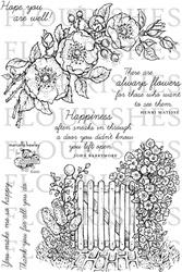 SS236 Clearstempel - Flourish