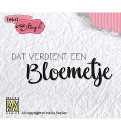 DTCS011 Clearstempel Nederlandse tekst - Nellie Snellen