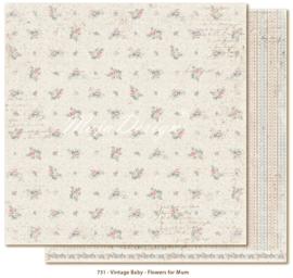 731 Scrappapier dubbelzijdig - Vintage Baby - Maja Design