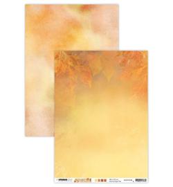 BASISWA328 Achtergrondpapier A4 dubbelzijdig  - Wonderful Autumn - Studio Light