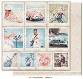 767 Scrappapier dubbelzijdig - Summer Crush - Maja Design