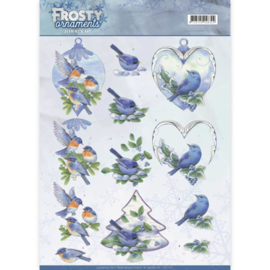 CD11131 Knipvel A4 - Frosty Ornaments - Jenine's Art