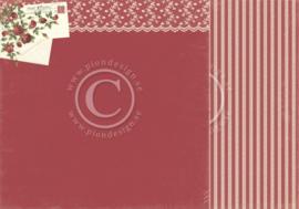 PD6807 Scrappapier dubbelzijdig - To My Valentine - Pion Design