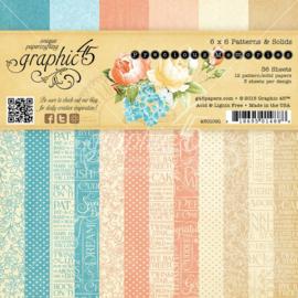 4501091 Paperpad 15 x 15cm - Precious Memories - Graphic45